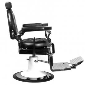 Gabbiano Fotel Barberski Imperator Czarny #2