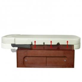 Spa leżanka kosmetyczna azzurro wood 361a 4 siln. Podgrzewana #3