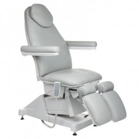 Elektryczny fotel kosmetyczny AMALFI BT-156 Szary