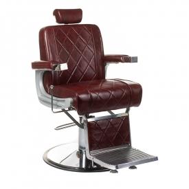 Fotel barberski ODYS BH-31825M Burgund