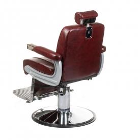 Fotel barberski ODYS BH-31825M Burgund #7
