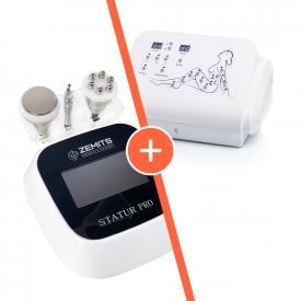 Zestaw Urządzenie do modelowania sylwetki i liftingu Zemits Statur PRO + Urządzenie do presoterapii i drenażu limfatycznego Zemits Sisley