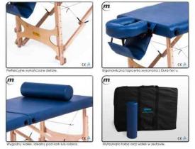 Stół do masażu przenośny składany Pro-Master Ultra #3
