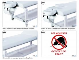 Stół Do Masażu Stacjonarny Spa Plus Ba #4