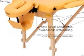 Stół do masażu składany Premium #3