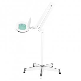 Lampa lupa elegante 6028 60 led smd 5d ze statywem reg. Natężenie światła #1