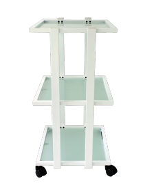 Stolik kosmetyczny 3 półki szklane T PLUS #3