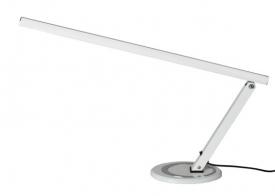 Lampa manicure na biurko aluminium LUX SLIM LED biała #1