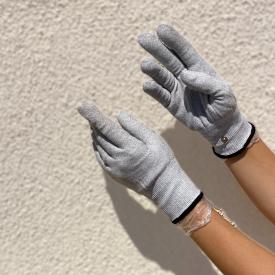 Rękawiczki do terapii mikroprądami
