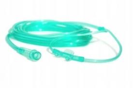 Cewnik do podawania tlenu przez nos wąsy 2m Koncentrator Tlenu