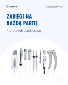 Kombajn do terapii mikroprądami i elektroporacji Zemits Verstand Pro #1