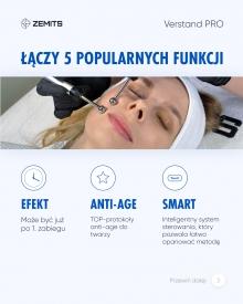 Kombajn do terapii mikroprądami i elektroporacji Zemits Verstand Pro #5