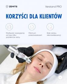 Kombajn do terapii mikroprądami i elektroporacji Zemits Verstand Pro #7