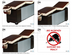Stół Do Masażu Stacjonarny Lux M2 #3