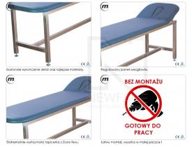 Stół Do Masażu Stacjonarny Medic 65 #3