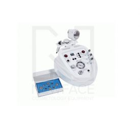 Kombajn Kosmetyczny 3w1 Bc605 Mikrodermabrazja Ultradźwięki Ciepło Zimno