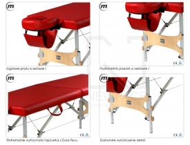 Stół do masażu składany Aura Alu #2