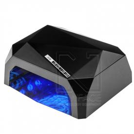 Lampa Diamond UV Led 24w + 12w CCFL Pro Timer + Sensor Black #1