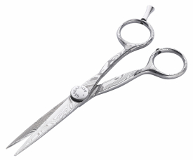 Nożyczki Fryzjerskie Sensation Damast Offset Premium-Line, Rozmiar 5.5