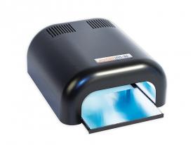 Lampa UV Na 4 Żarówki Promed Czarna