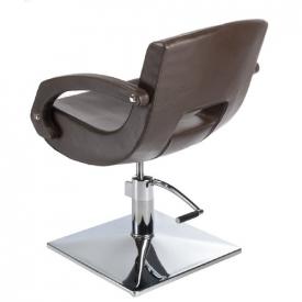 Fotel fryzjerski Nino BH-8805 brązowy #2