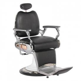 Gabbiano Fotel Barberski Moto Style Czarny