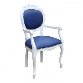 Krzesło Ludwik Niebieski #1