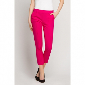 Spodnie kosmetyczne Cygaretki Amarant, Rozmiar 40