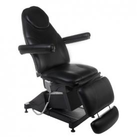 Elektryczny fotel kosmetyczny AMALFI BT-158 Czarny