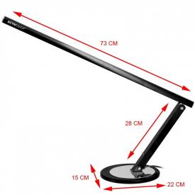 Lampa na biurko Slim LED Czarna #2