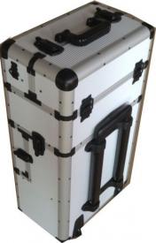 Kufer Na Rolkach TC009 White Strip Duży