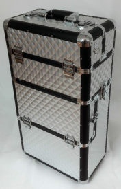 Kufer Na Rolkach TC009 Silver 3D