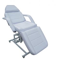 Fotel kosmetyczny hydrauliczny 233 biały #1