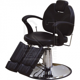 Fotel hydrauliczny do pedicure 227А czarny #1