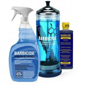 Pojemnik do dezynfekcji narzędzi szklany 1100 ml BARBICIDE #1