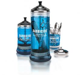 Pojemnik do dezynfekcji narzędzi szklany 750 ml Barbicide #1
