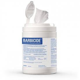 Chusteczki do dezynfekcji powierzchni BARBICIDE, 120 szt