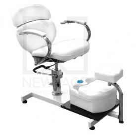 Fotel kosmetyczny hydrauliczny SPA 2 z masażerem #3