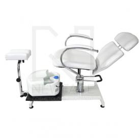 Fotel kosmetyczny hydrauliczny SPA 2 z masażerem #4