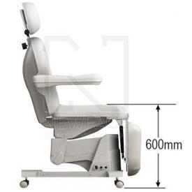 Fotel kosmetyczny elektryczny 2w1 optima #8