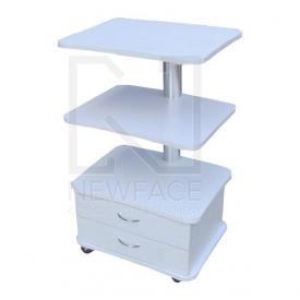 Stolik kosmetyczny 3 półki 2 szuflady TS