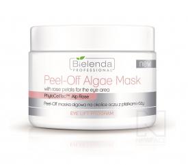 Bielenda Peel-off maska algowa na okolice oczu z płatkami róży, 90 g