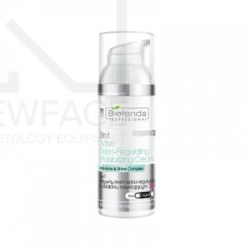 Bielenda Aktywny krem sebo-regulujący o działaniu nawilżającym +20 2w1, 50 ml