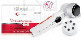 Bielenda Zestaw Mini RF + Mezoterapia Bezigłowa 2w1