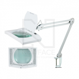 lampa led z lupą 5D (108x) prostokątna #1