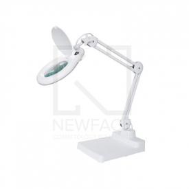 Lampa led z lupą stołowa 5D (90x LED)