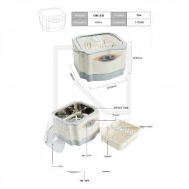 Myjka Ultradźwiękowa EMK-928 1,4 l #2