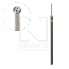 Frez Stalowa Kulka 1,0/1,0mm Acurata