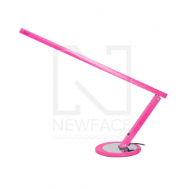 Lampa Na Biurko Slim 20W Różowa