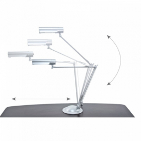Lampa Na Biurko Eco Silver #4